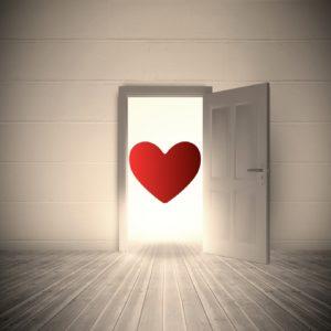En öppen dörr leder till ditt hjärta